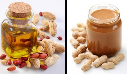 Арахисовое масло и арахисовая паста